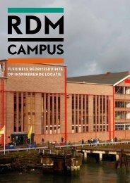 Brochure bedrijfsruimte RDM Campus (pdf)