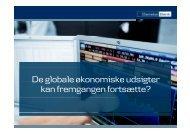 De globale økonomiske udsigter De globale økonomiske ... - primo
