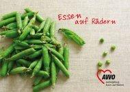 Broschüre Essen auf Rädern - die regionauten