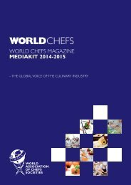 MEDIAKIT 2014T2015 WORLDchefs - WACS