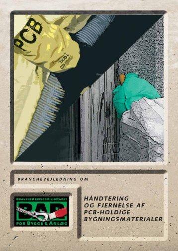 håndtering og fjernelse af pcb-holdige bygningsmaterialer
