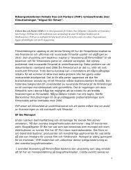 Riksorganisationen Folkets Hus och Parker (pdf 131 kB) - Regeringen