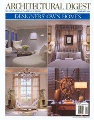 Hughes Design Associates The Cloister interior design, Architectural ...