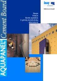 Nauja Vidaus Išorės apdailos Ir grindų konstrukcijų alternatyva
