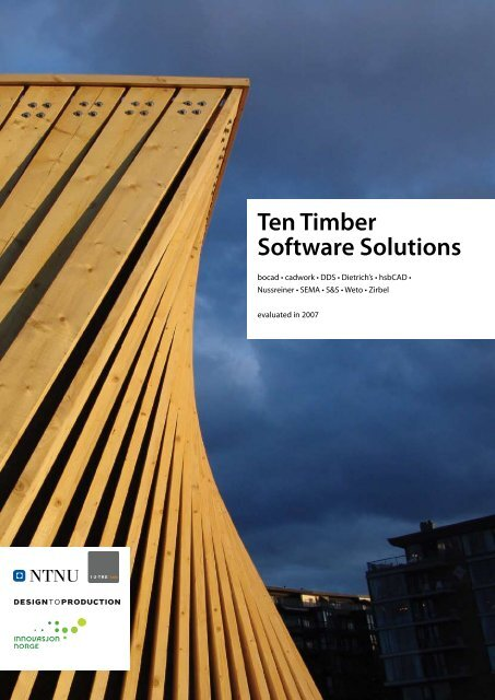 Ten Timber Software Solutions - NTNU