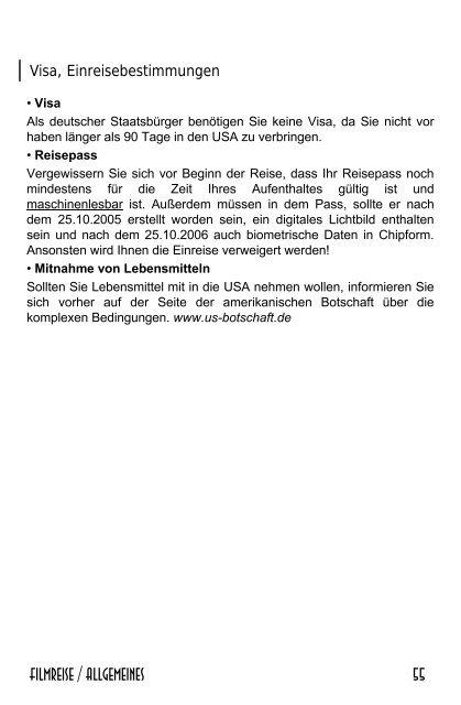 Beschreibung Telefonnummer - REISS AUS!