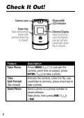 Motorola RAZR V3 Manual - Virgin Media - Page 4