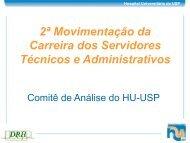 2ª Movimentação da Carreira dos Servidores Técnicos e ...