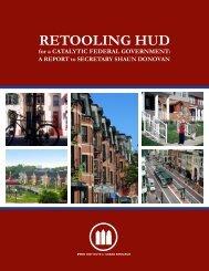 RETOOLING HUD - Penn Institute for Urban Research - University of ...