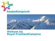 casus FrieslandCampina