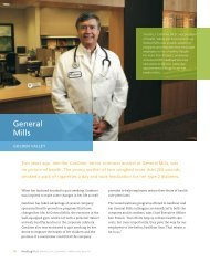 General Mills - Blue Cross and Blue Shield of Minnesota