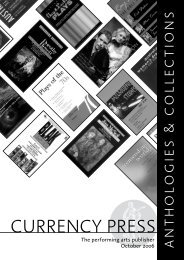 collected plays - Currency Press