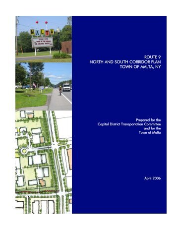 Route 9 North and South Corridor Plan—Town of Malta