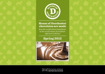 Spring 2012 - The House of Dorchester