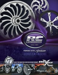 you'veknownand seen us for our wheels… - RC Components