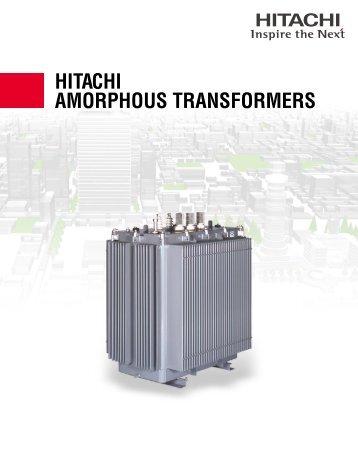 HITACHI AMORPHOUS TRANSFORMERS