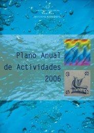 Plano Anual de Actividades 2006 - Instituto Hidrográfico