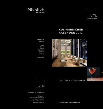 Kulinarischer Kalender 2012 - VEN