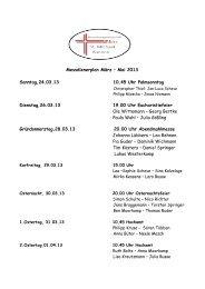 Messdienerplan März – Mai 2013 Sonntag,24.03.13 10.45 Uhr ...