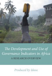 Research Overview - Governance Assessment Portal