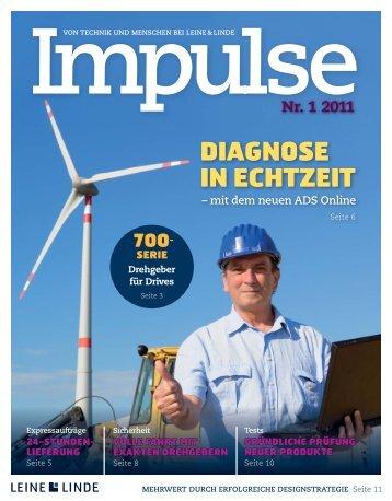 Impulse Nr. 2 - 2011 (PDF) - Leine & Linde