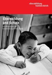 Elternbildung und Schule - Lotse.zh.ch - Kanton Zürich