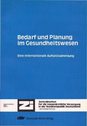 Bedarf und Planung - Detlef Schwefel