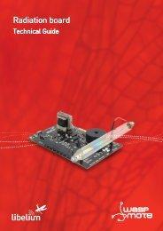 Radiation Board: Technical Guide - Libelium