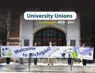 2010-2011 University Unions Annual Report (pdf) - University ...