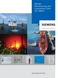 content - Siemens Manufacturing and Engineering Centre Ltd.