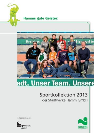Sportkollektion 2013 - Ballsportdirekt.dortmund