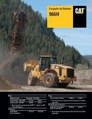 Specalog for Cargador de Ruedas 966H, ASHQ5657 - Kelly Tractor