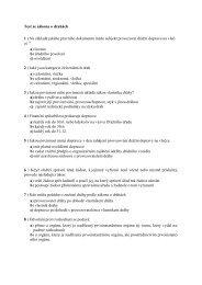 Test ze zákona o drahách 1 ) Na základě jakého ... - Drážní úřad