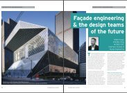 Façade engineering & the design teams of the future