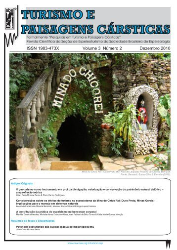 Volume 3 - Número 2 - Sociedade Brasileira de Espeleologia