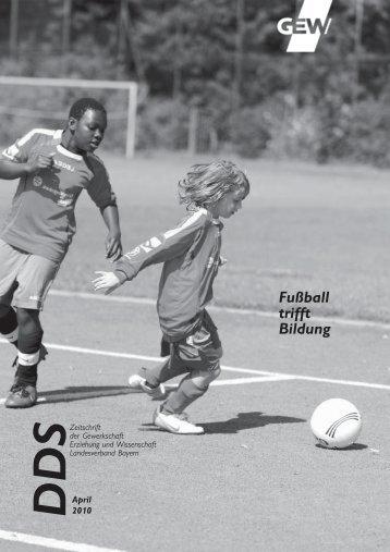 Fußball trifft Bildung - GEW Landesverband Bayern