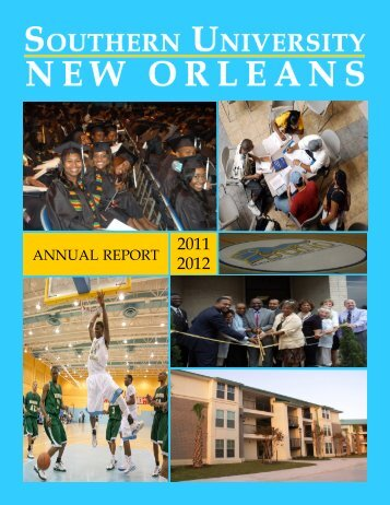 2011-2012 Annual Report - Southern University New Orleans