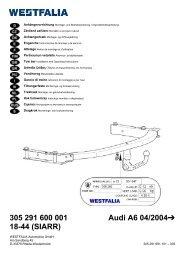 305 291 600 001 Audi A6 04/2004 18-44 (SIARR) - Autoteilefrau.eu