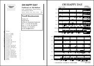 OH HAPPY DAY Traditional - Tierolff Muziekcentrale