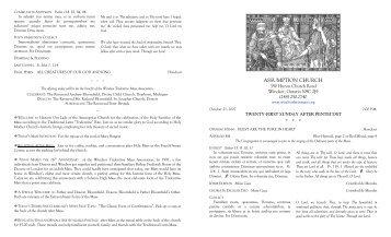 ASSUMPTION CHURCH - Windsor Tridentine Latin Mass at ...