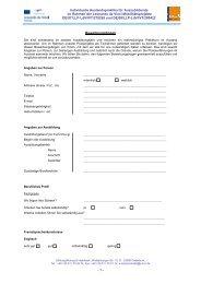 1 - Individuelle Auslandspraktika für Auszubildende im Rahmen der ...