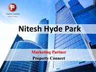 Nitesh Hyde Park - Property Connect Search - Propconnect.in
