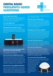 digital radio frequently asked questions - Digital Radio Plus