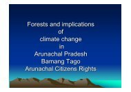 Forests and implications of climate change in Arunachal Pradesh-25 ...