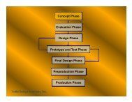 Concept Phase Evaluation Phase Design Phase Prototype and Test ...