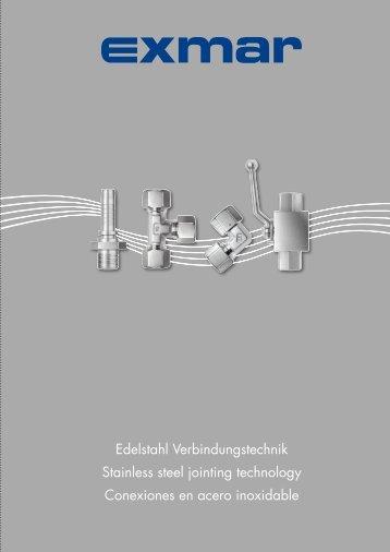 Edelstahl Verbindungstechnik Stainless steel jointing technology ...