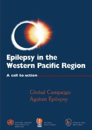 2. Epilepsy in the Western Pacific Region - World Health Organization