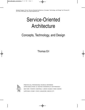 Service-Oriented Architecture: Concepts, Technology, and Design ...