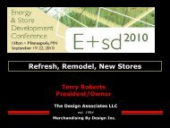 Refresh, Remodel, New Stores - The Design Associates, LLC