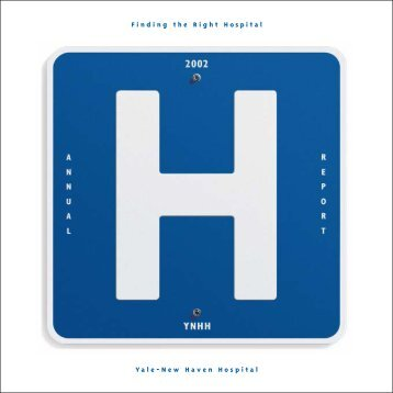2002 Annual Report - Yale-New Haven Hospital